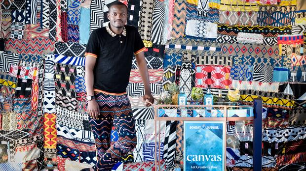Look: Maxhosa Laduma Stirs Creativity With Bombay Sapphire photo