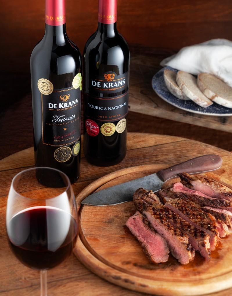 De Krans scores a hat trick at NWC/Top 100 SA Wines photo