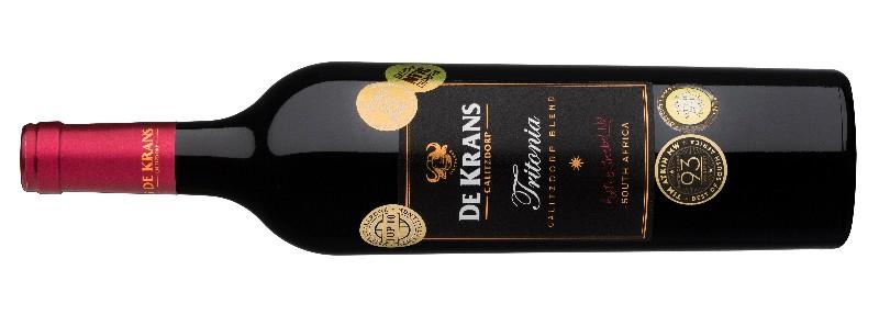 Top Marks for De Krans Tritonia in Signature Blend Report photo