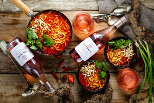 Delheim Rose Styled LR 2 The Best Rosé Wines To Drink With Comfort Food