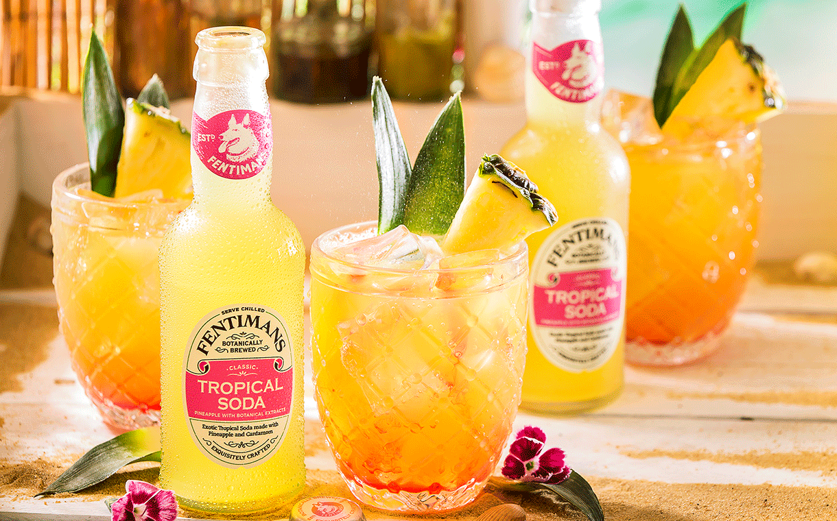 Fentimans Expands Rum Mixer Portfolio With New Tropical Soda photo