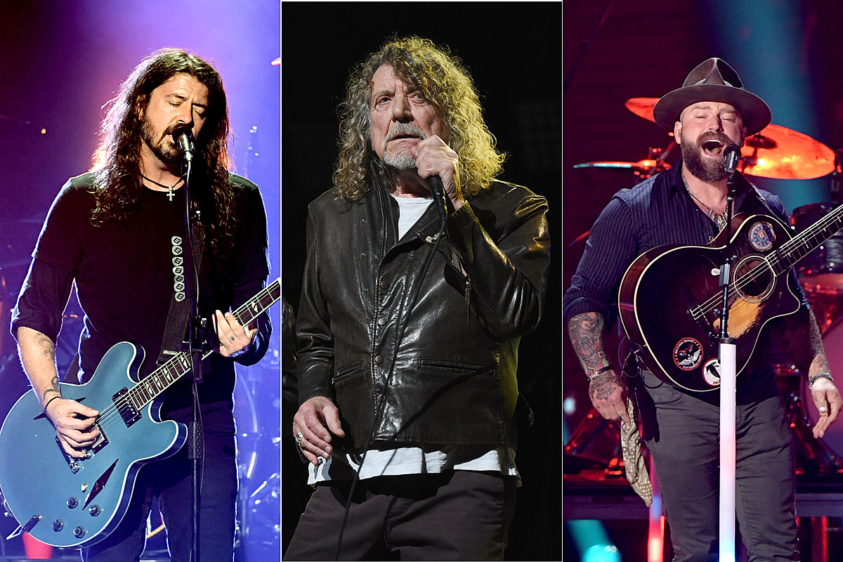 Foo Fighters, Robert Plant + Zac Brown Lead 2019 Bourbon & Beyond photo