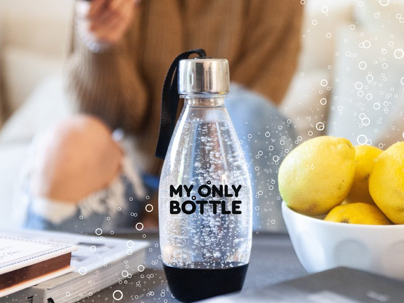 Sodastream Launches My Only Bottle To Combat Single-use Plastic photo