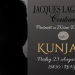 King of Couture Brings Designer Flair to Kunjani Wine Dinner photo