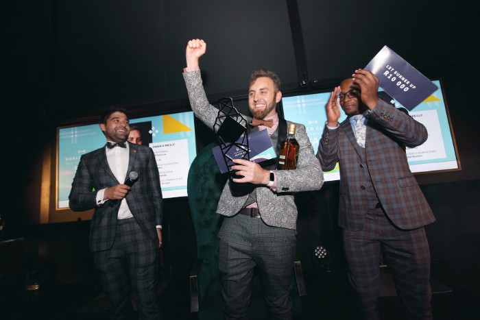 Owen OReilly 2019 World Class Winner  SA`s Top Bartender To Take On Worlds Best In Glasgow Later This Year