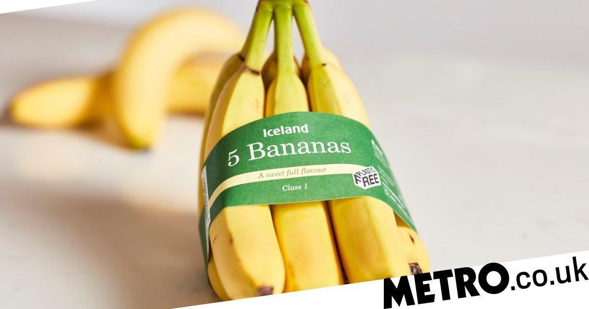 Iceland Reintroducing Plastic Packaging For Bananas Because Card Solution Failed photo