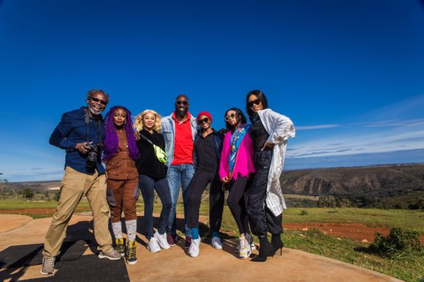 Sa Tourism Hosts Toke Makinwa, Bonang Matheba, Mai Atafo, Kelechi Amadi- Obi To An Amazing Summer Experience photo
