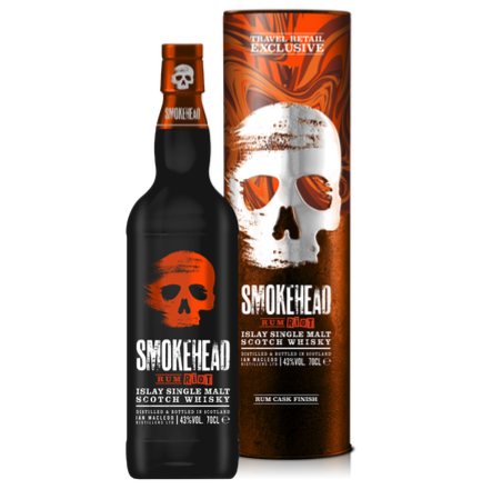 Ian Macleod To Launch Travel Retail Exclusive Smokehead Rum Riot In Cannes photo