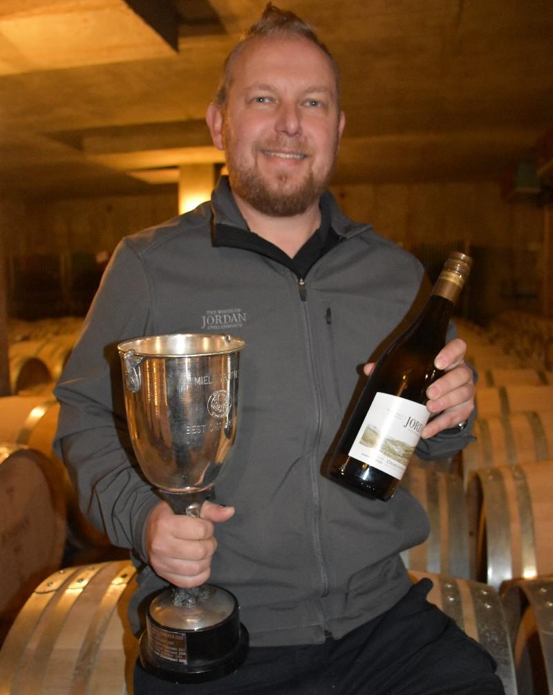 Award-winning Jordan Barrel Fermented Chardonnay 2018 released! photo