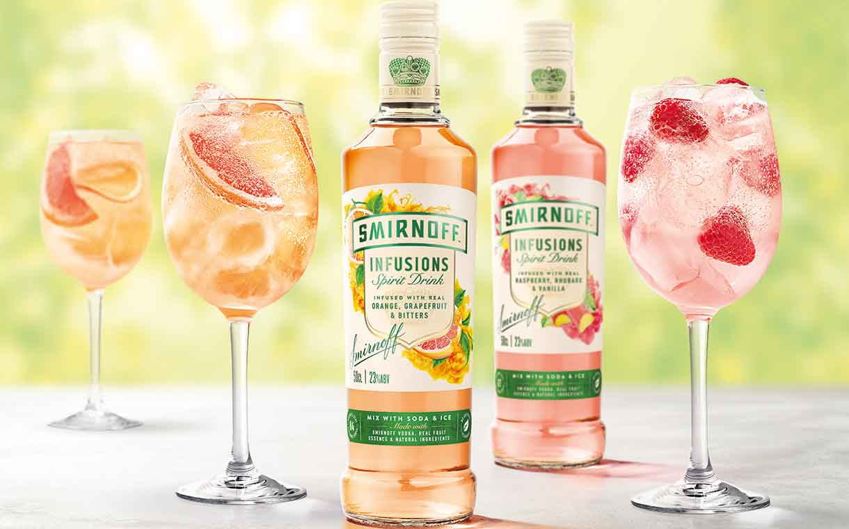Diageo Launches Fruit-flavoured Smirnoff Infusions Range In Uk photo