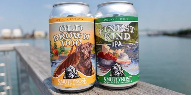 Revitalized Smuttynose Brewing Redesigns Labels With Watercolor Art Of Iconic Granite State Wonders (announces New Dover Location) photo
