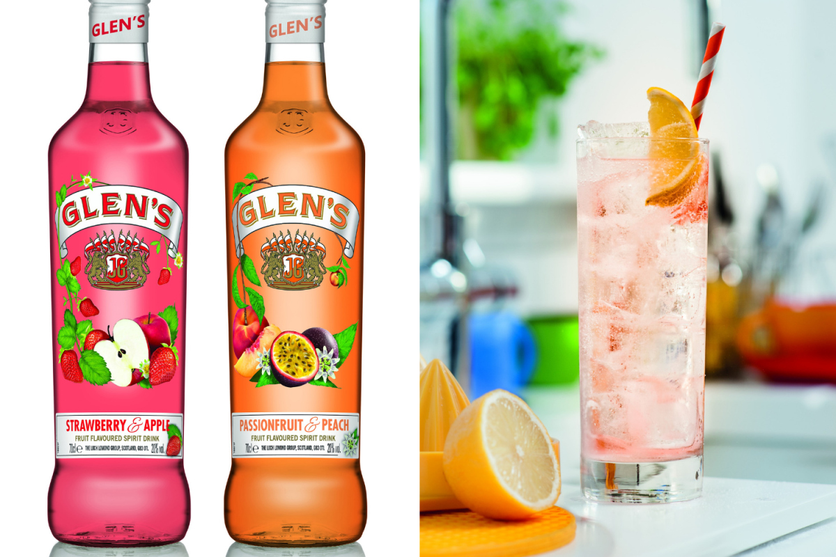 Glen's Vodka Launch New Flavoured Spirits Tipped As The Perfect Summer Drink photo