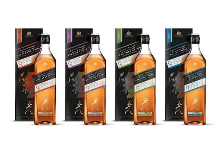 New Johnnie Walker Line Up Focuses Upon Regions Of Scotland photo