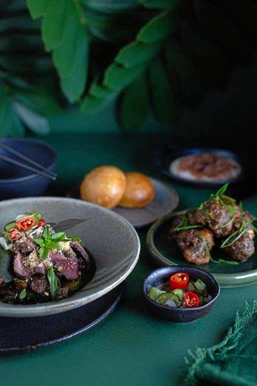 Beer, Wine Face Off At Spicers Tamarind Retreat Asian Dinner photo