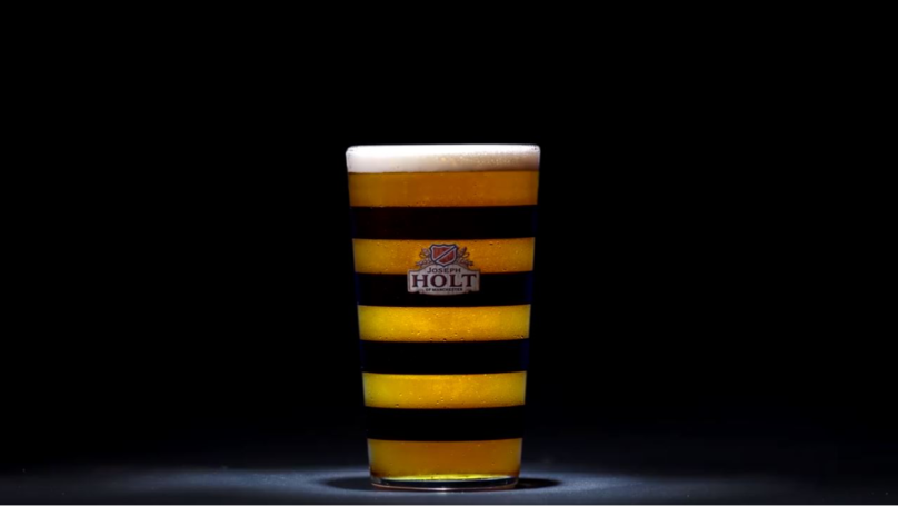 Joseph Holt Launch Limited Edition 'manchester Bee Glass' photo