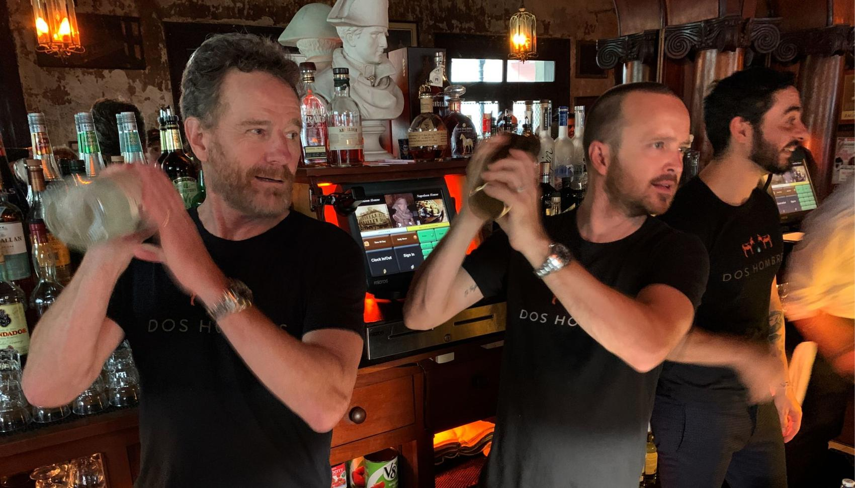 'Breaking Bad' Stars Bartend In New Orleans To Promote New Mezcal Brand photo