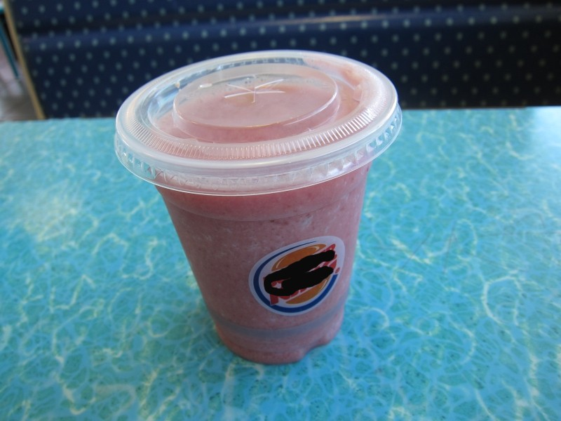 burger king bk strawberry banana smoothie 01 Drinks Prisoners Ordered on Death Row