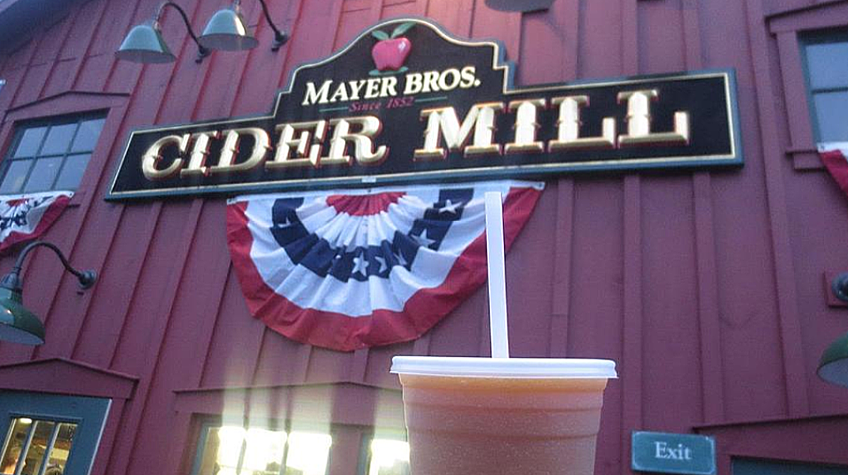 Mayer Brothers Cider Mill Opening Day photo