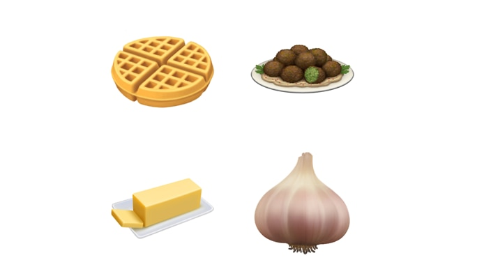 Waffle And Falafel Emojis Are Coming To A Screen Near You photo