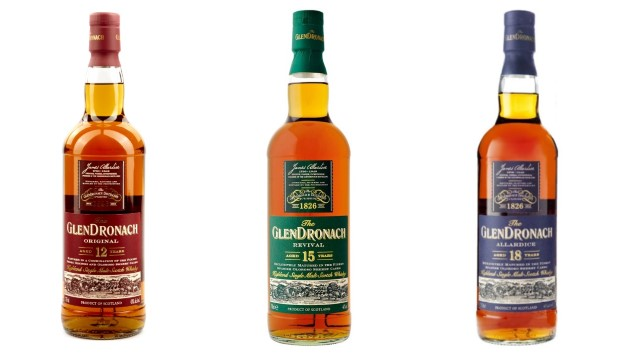 Tasting Three Classic, Sherried Scotches From Glendronach photo