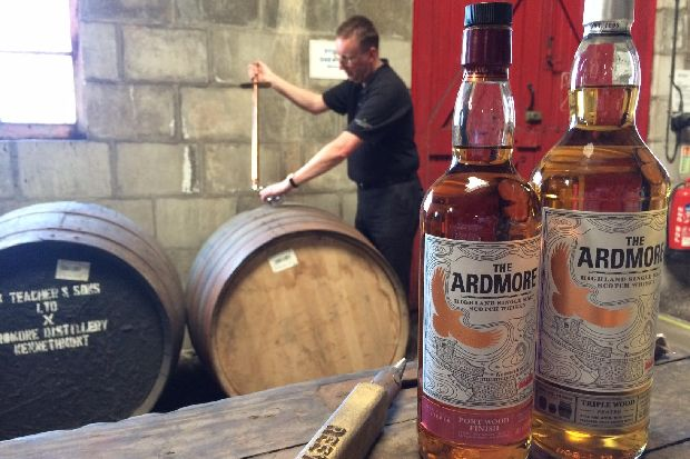 Ardmore: A Look Behind The Scenes At This Exciting Closed Door Whisky Distillery photo