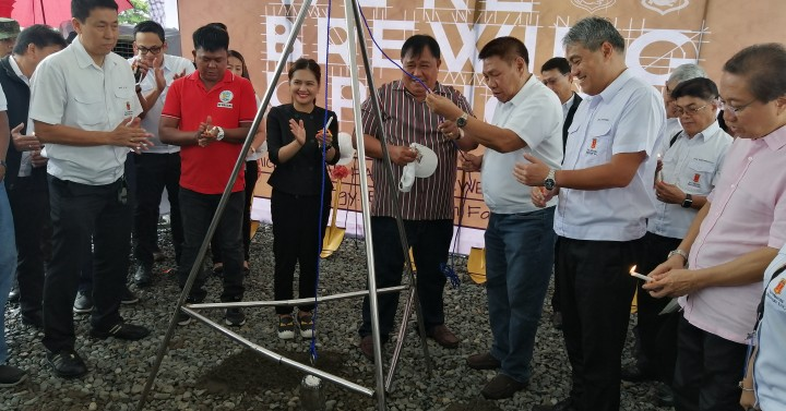 San Miguel Breaks Ground For New Brewery In Pangasinan photo