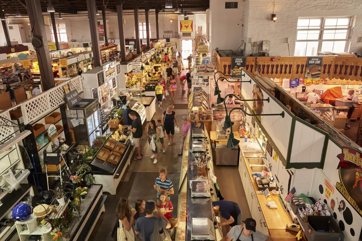 Farmers Market Turned Global Bazaar In Lancaster, Pa. photo