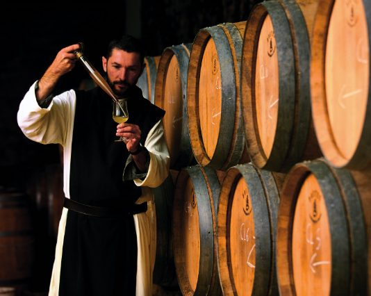 monk Tracing The Ancient History Of Wine