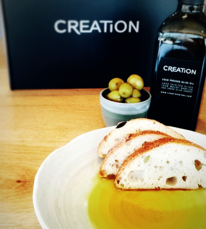 Creation Releases Its First Olive Oil photo