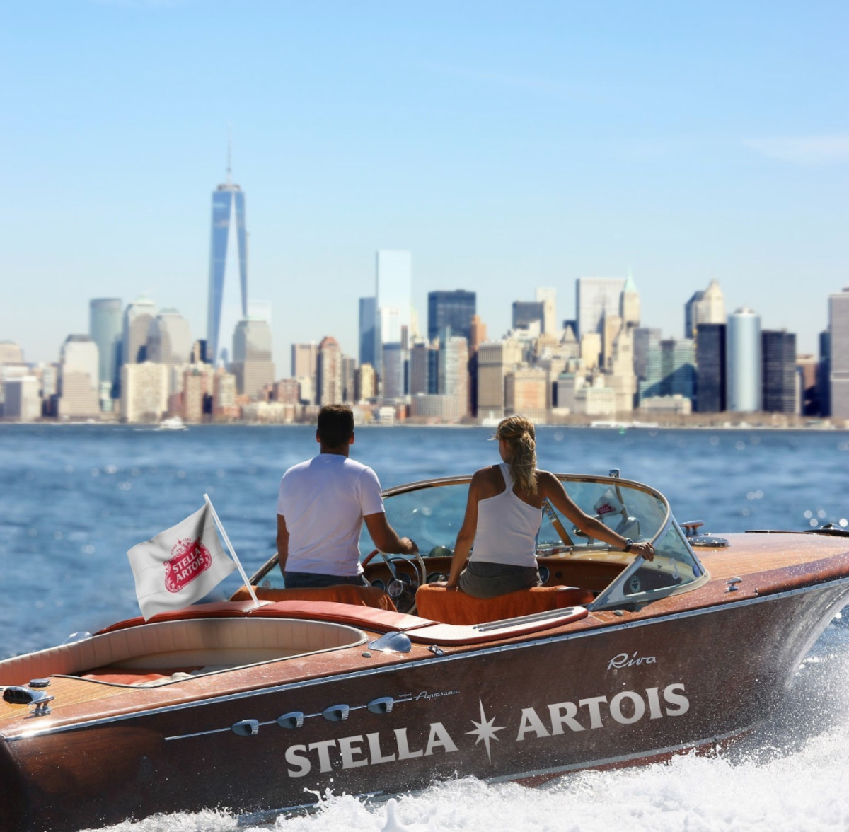 Stella Artois Offers Free Riva Boat Rides On The East River photo