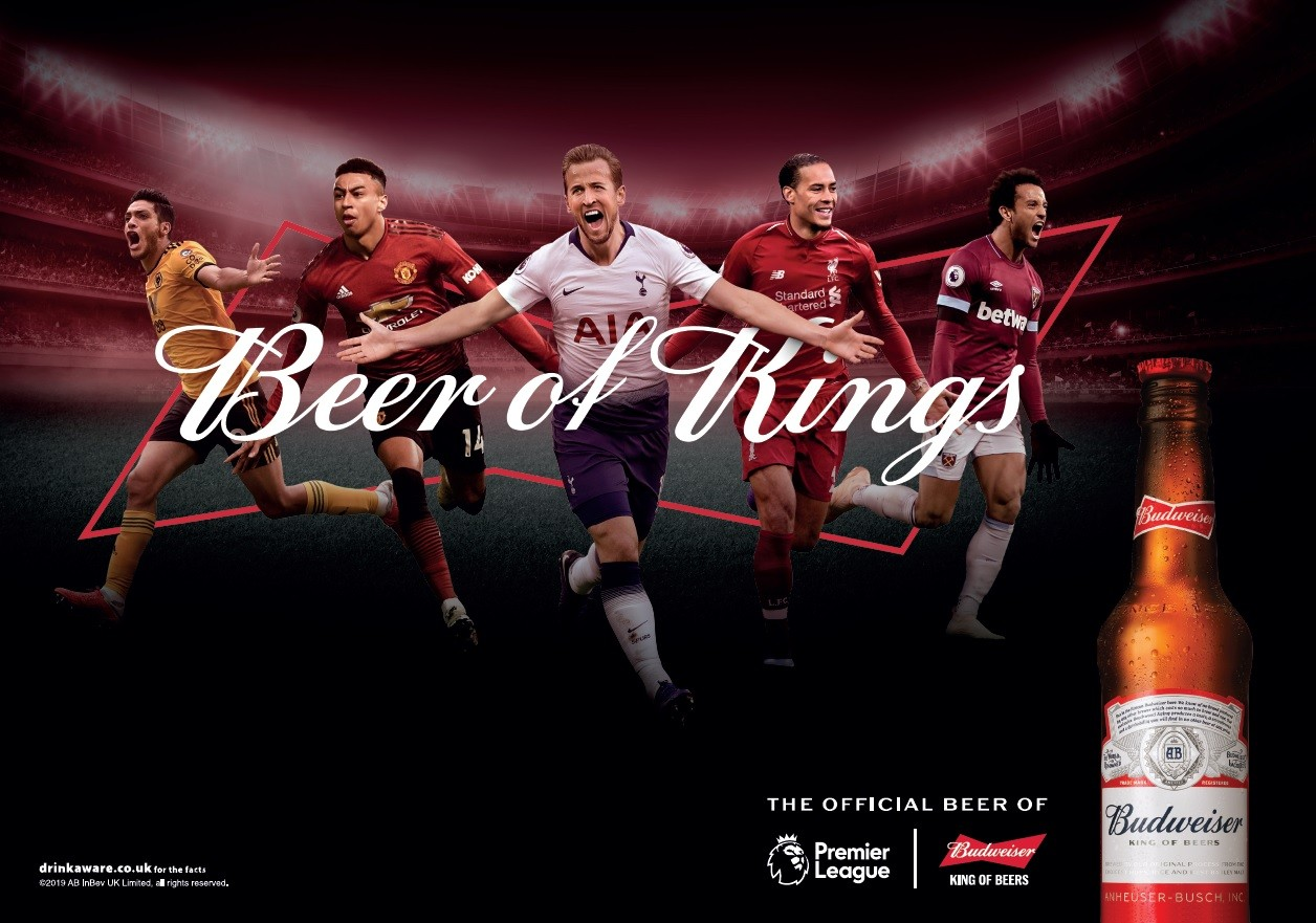 Budweiser Inks Deals With Premier League & Laliga As Football Push Continues photo