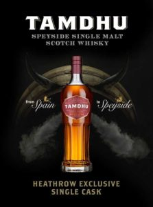 Ian Macleod Distillers Partners With Dufry To Launch Tamdhu Single Cask At Heathrow photo