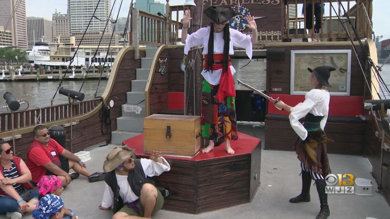 Fun In The Sun: Urban Pirates & Fort Mchenry photo