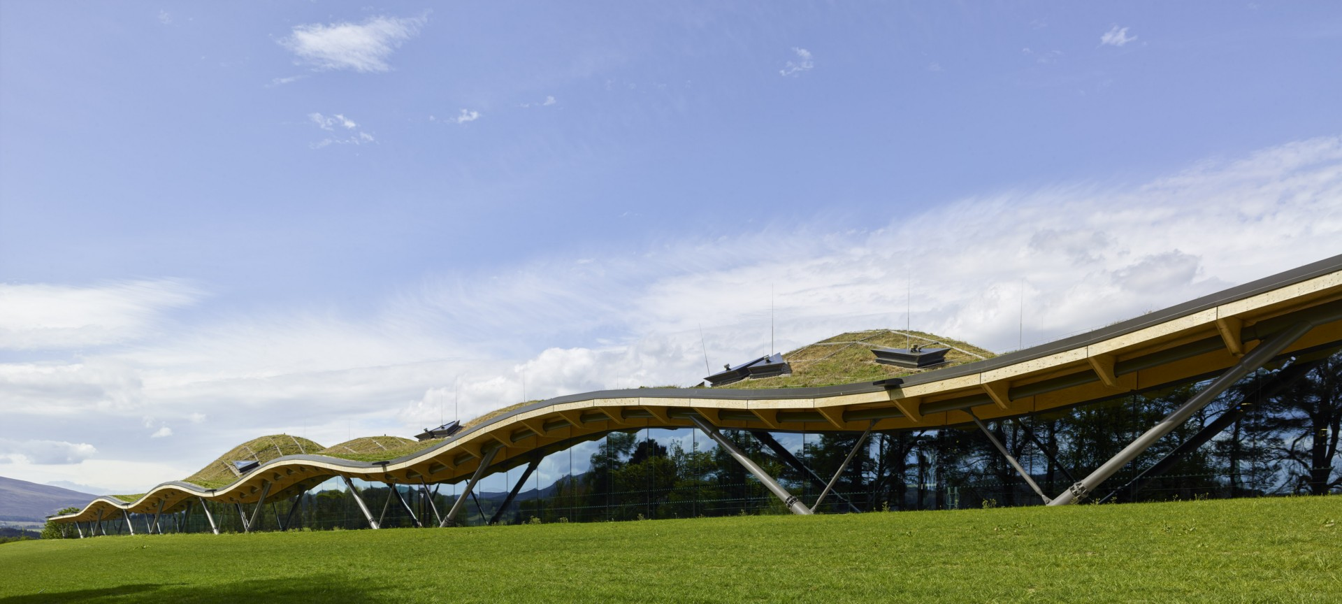 Rogers Stirk Harbour And Partners The Macallan Distillery And Visitor Experience photo