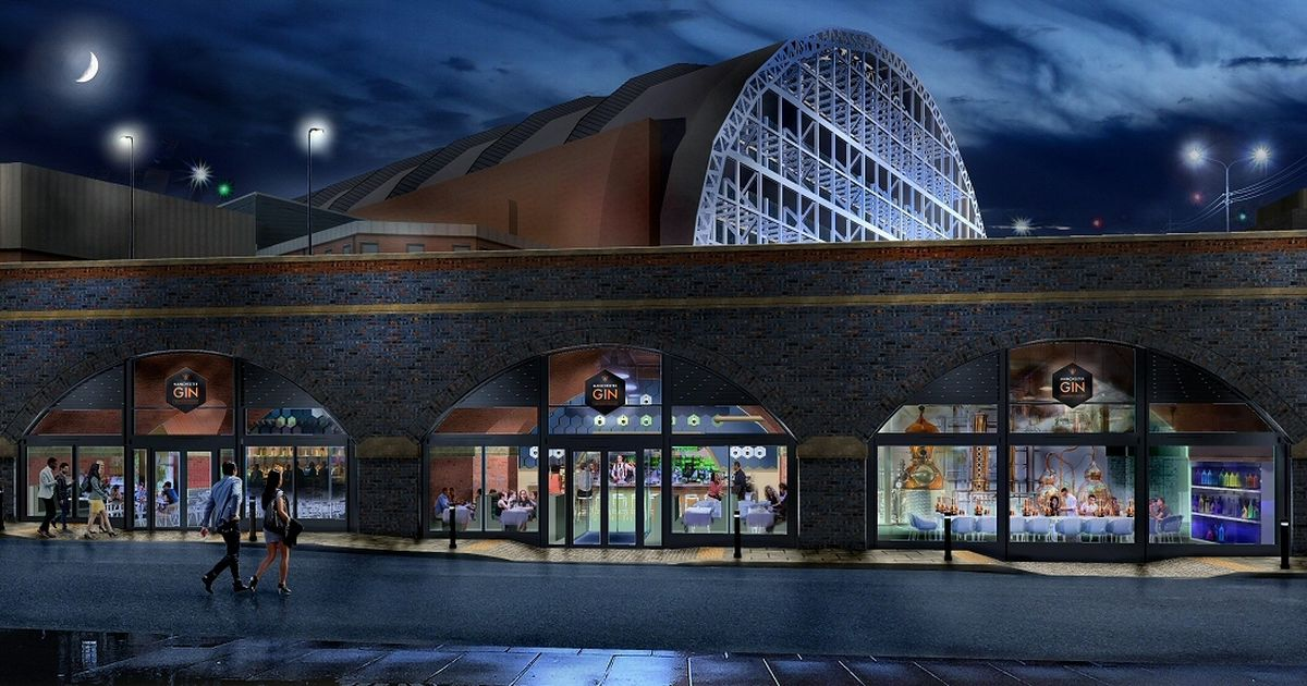 A Gin-themed Restaurant And Bar Is Opening Inside A Manchester Railway Arch photo