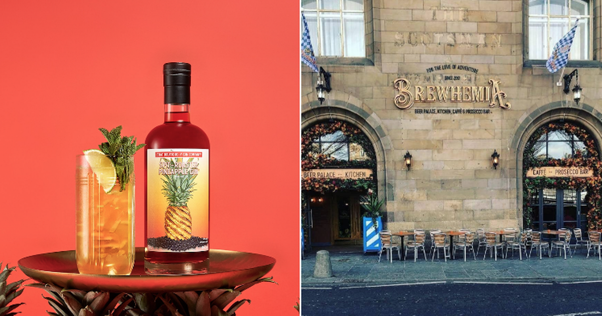 How To Get A Free Gin Cocktail At These Six Edinburgh Bars On Sunday photo