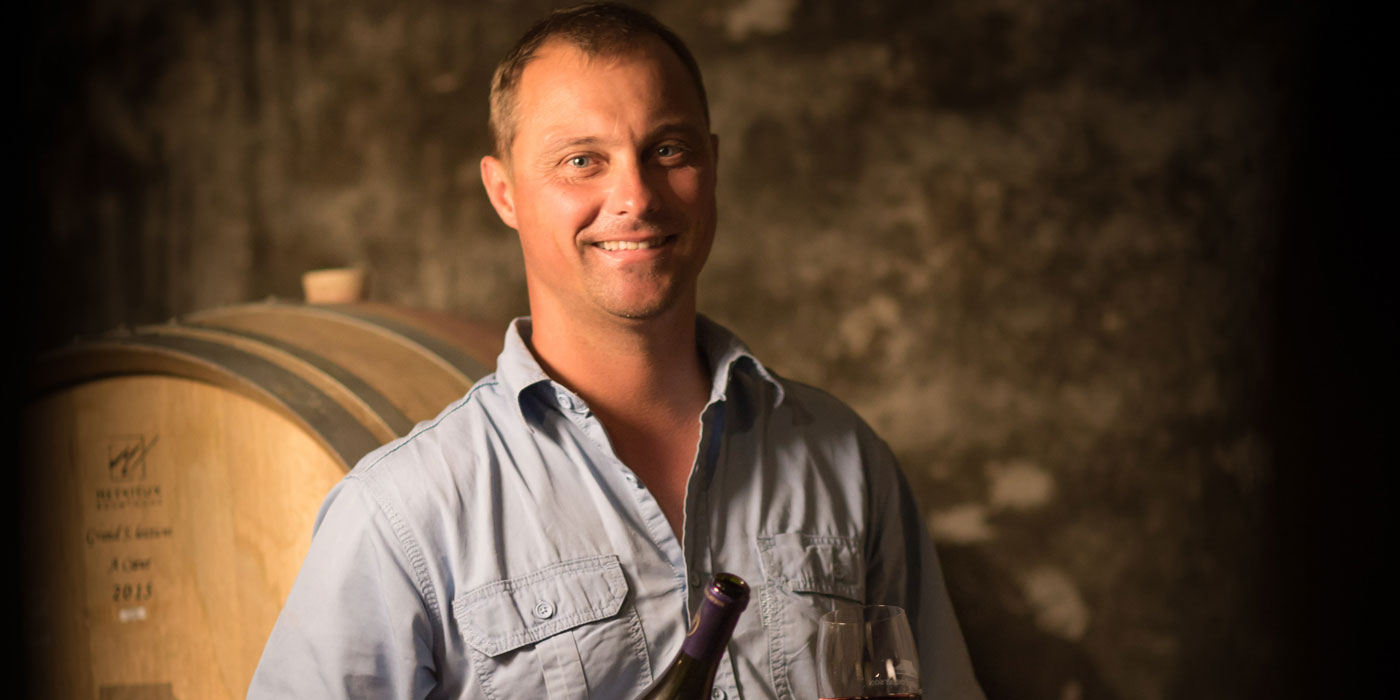 Chris Albrecht, winemaker at Bouchard Finlayson continues the legacy of bottling vinous wonders in the Hemel-en-Aarde photo