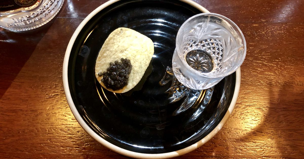 Allegory?s Debut Food Menu Balances Caviar On Pringles photo