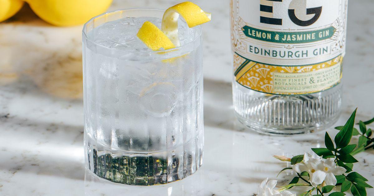 Edinburgh Gin Reveal New Full-strength Lemon And Jasmine Spirit photo