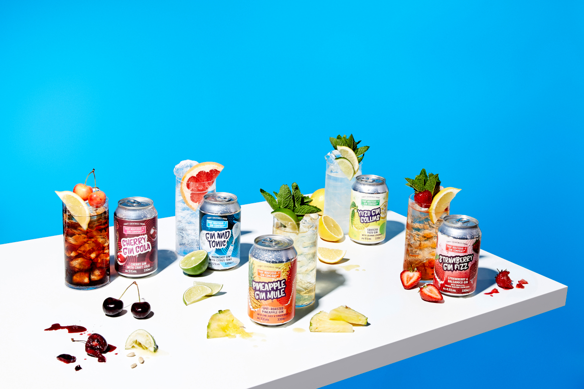 Reviewed: That Boutique-y Gin Company Craft Cocktails In A Can photo