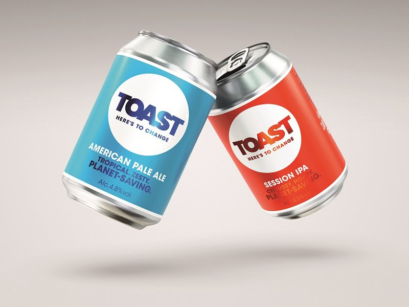 B&b Studio Delivers New Brand Identity For Toast Ale photo