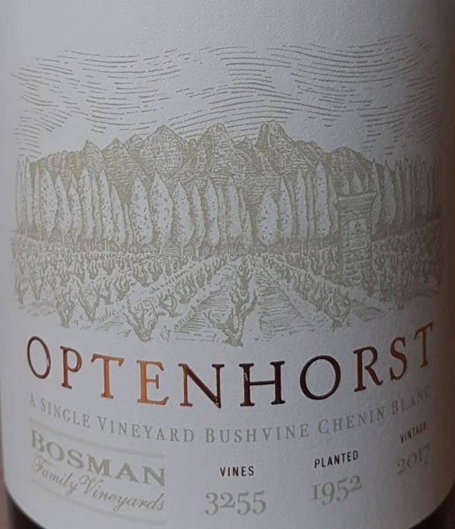 Bosman Family Vineyards Optenhorst Chenin Blanc 2017 photo