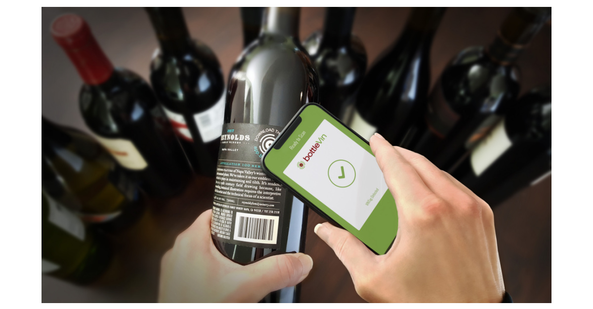 Bottlevin Enters Second Year Supporting Nfc-enabled Wines For Reynolds Family Winery And Bricoleur Vineyards photo