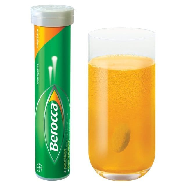 Berocca effervescent multivitamin tablets tubes with caps Immunity Boosting Alcoholic Cocktails To Drink When You Are Sick