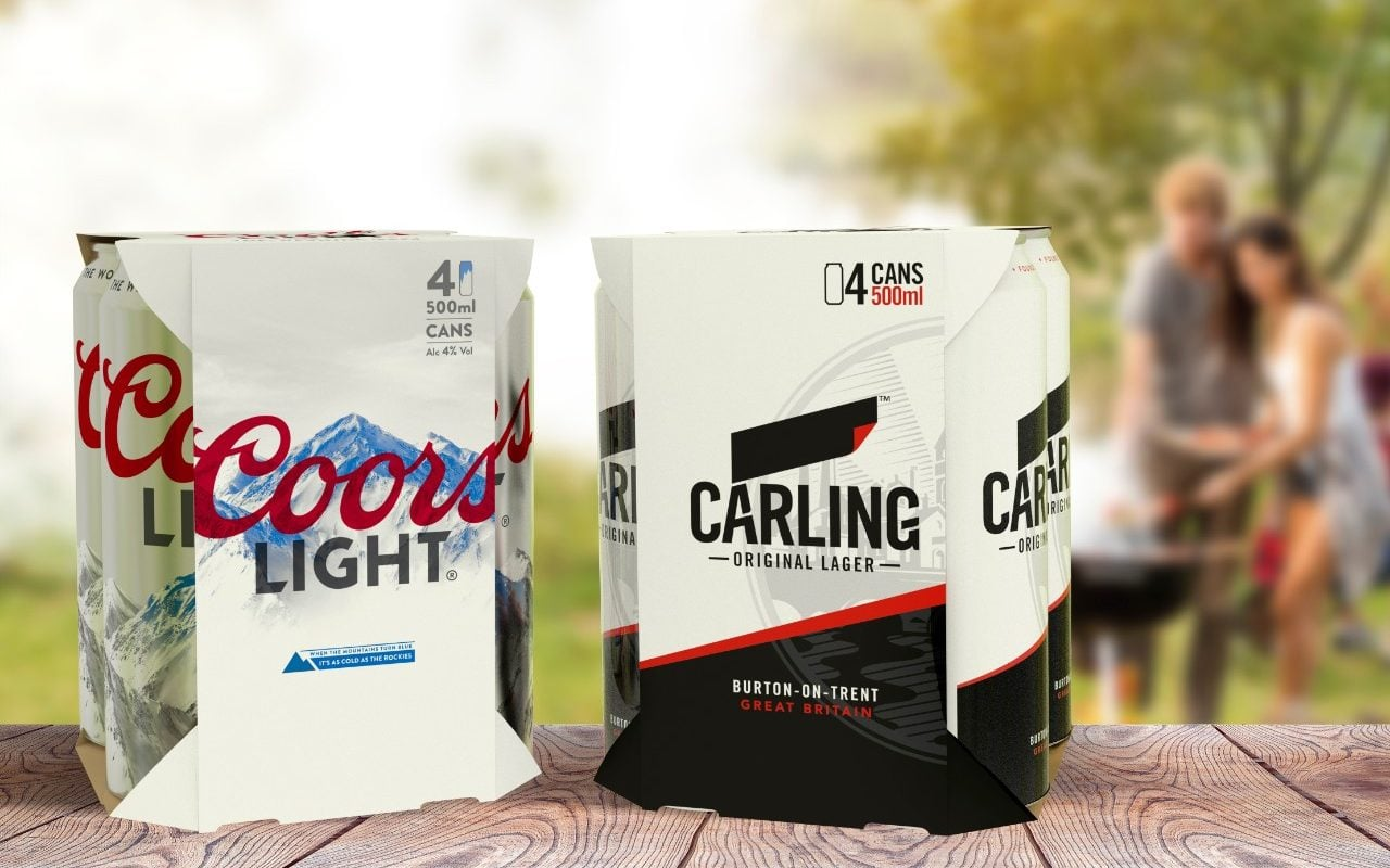 Carling Beer To Ditch Plastic Packaging To Become More Sustainable photo
