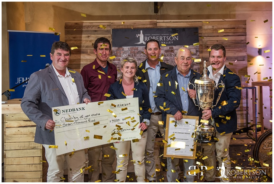 Robertson Valley Honours Wine Champions photo