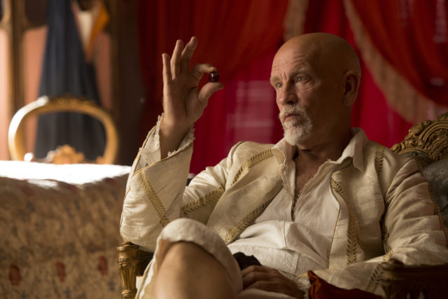 Actor John Malkovich  launches a range of wines in Britain photo