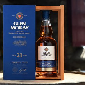 Glen Moray Finishes 21yo Single Malt In Port Casks photo