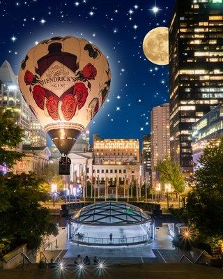 Hendrick's Gin Presents An Ocular And Auditory Spectacle As It Opens Its History-making Portal Of Peculiarity In Vancouver At The Inaugural Honda Celebration Of Light Downtown photo