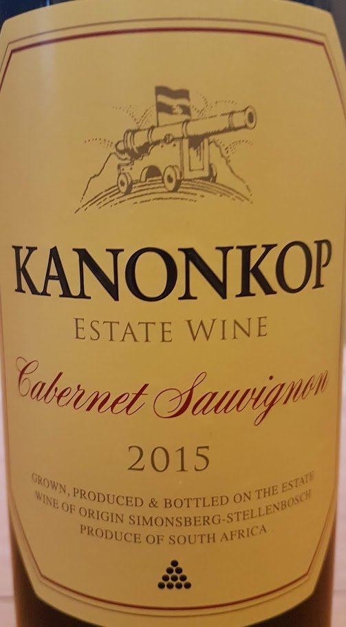 Kanonkop Cabernet Sauvignon 2015 ? Just How Good Is It? photo